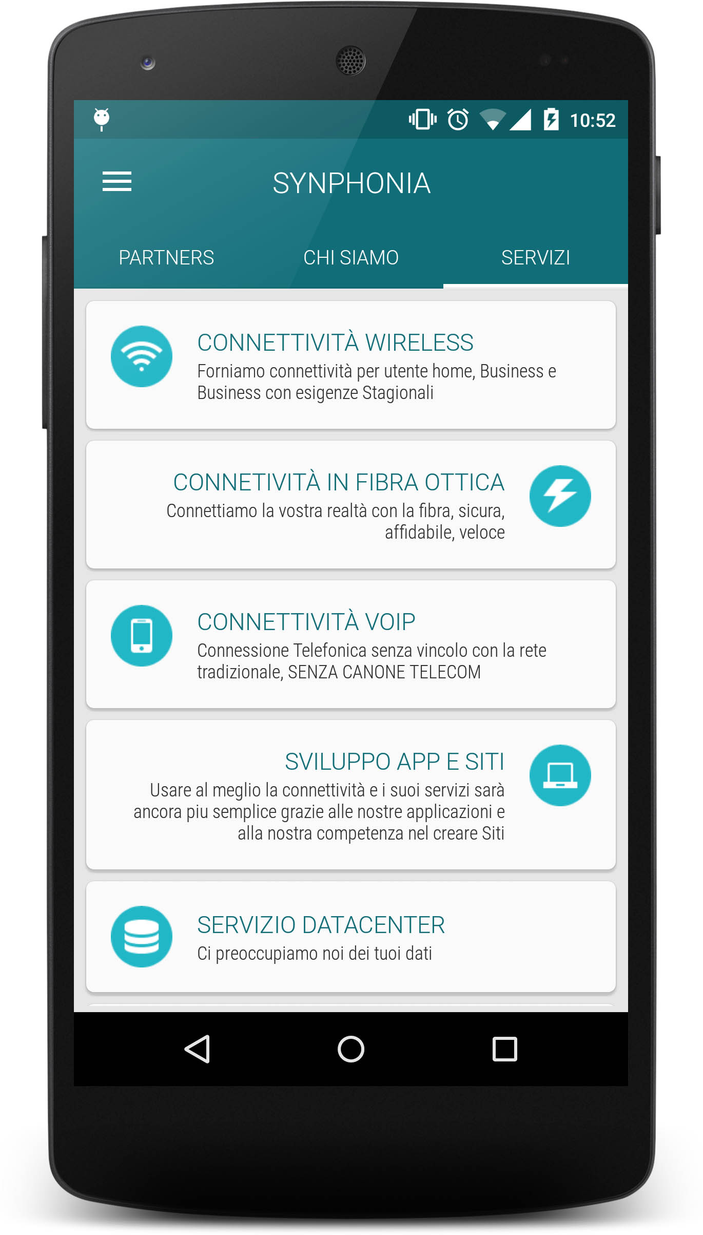 Synphonia App